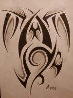 Tribal Tattoo Design 5 by blackbutterfly006