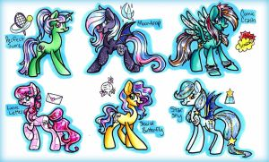 Traditional Adopts Set 6 (AUCTION Closed) by frostykat13