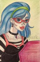 Ghoulia Yelps by KHwhitelion