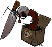 9: Knife-in-the-box by DemonicSora