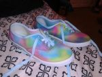 My Tie Dye shoes! by sjp2013