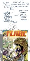 AWESOME Comic Covers: Flare by RomanJones