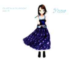 MMD Yuna Finished by Pucaroo16