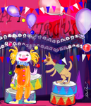 Happy Happy Circus by altergromit