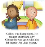 Caillou's Reality Check by geogant