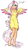 Fluttershy by Valetha