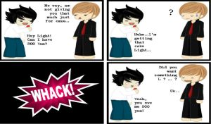 Funny Death Note Comic 16 by EmoAliKat