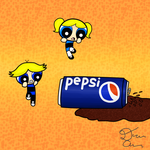 The Blues Love their Pepsi by Delusion-Dealer