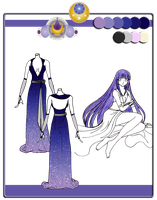 Quietus Designs: Moonshine Gown ~ incomplete by mitsuki0tennyo
