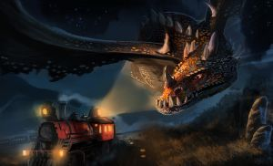 The Chase on Dragon Valley by MrG00