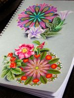 mandalas and plants by NikaSamarina