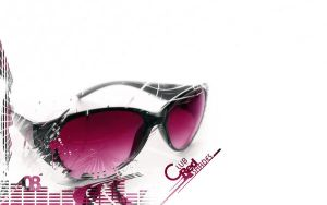 Red Club Shades Wallpaper by TheSpinxSage