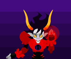 Red Lantern Gamzee by GameRat514