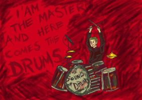 The sound of drums by somosquesoydulce