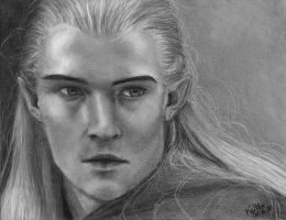 Legolas - Commission by MissingMyMind