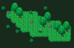 Sprite work--The Swamp. by ougaming