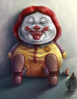 Ronald and his toys... by LUN2004