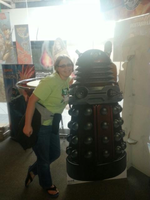 Amy and the Dalek by AmyNChan