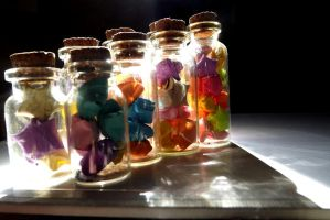 Jars of stars by 4zelf