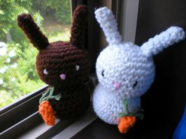 Bunnies in the Window by CrispyLettuce