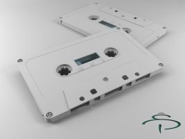 cassette tape by rocneasta