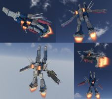 SDF-1 Boosters by asgard-knight