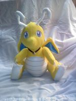 Dragonite plush by LRK-Creations