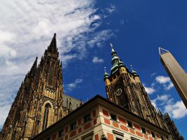 St. Vitus cathedral by Csipesz