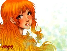 Nami after timeskip. by iamAsami