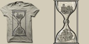 sandcastle of time  shirt by biotwist