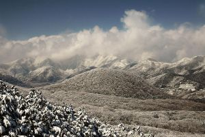 Hakone Mountains by BAproductions
