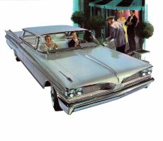 age of chrome and fins : 1959 Pontiac by Peterhoff3