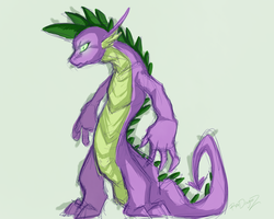spikey wikey sketchy by ROXDragonz