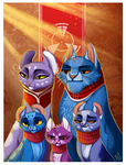 Portrait of the Royal Family by Rainroad
