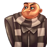 Mr Gru by Skellagirl