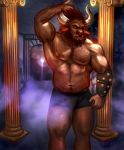 Boros the Minotaur -Gift Art- by ZanVarin