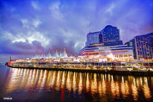 Canada Place by Vonburgherstein
