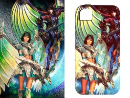 Legend Of Dragoon iPhone Case by iceSylum