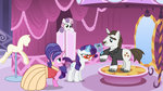 Rarity's Family Dress-Up by Firestorm-CAN