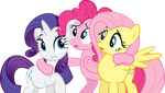 Is it Fluttershy? Rarity? by The-Crusius