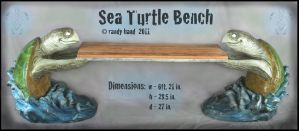 last sea turtle bench shot by RandyHand