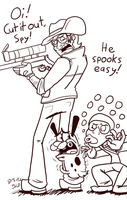 He Spooks Easy (see links in Artist Comment!) by Nintendo-Nut1