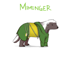 Because Honey Badger. by Ebulliently-Askew