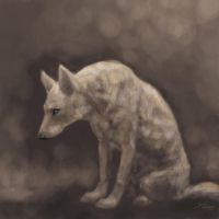 Canine quick painting by TheUrbanFox