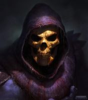 Skeletor by DavidRapozaArt