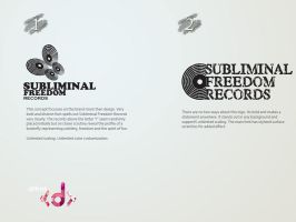 SubliminalFreedomRecords Logo by vijay-dffrnt