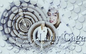 Lady Gaga Wallpaper 2 by rahrahmonster