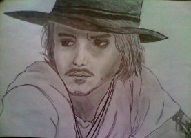 Johnny Depp by cinkoslaw90
