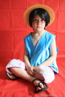 Mini Monkey D. Luffy by Wings-chan