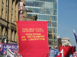 March in Manc 10 by Skargill